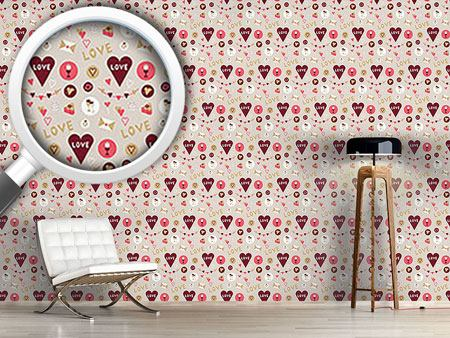 Pattern Wallpaper Show Your Love
