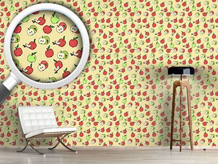 Pattern Wallpaper Choose An Apple