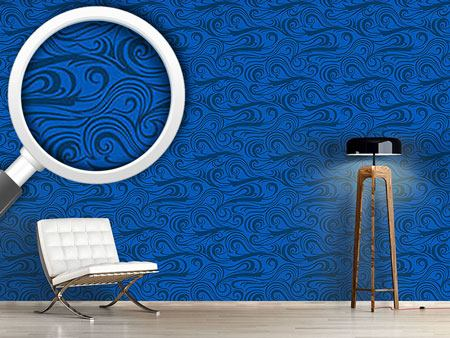 Papier peint design Brisk Waves