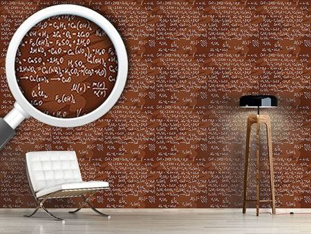 Pattern Wallpaper Chemical Formula