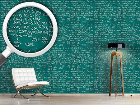 Pattern Wallpaper Chemical Lessons