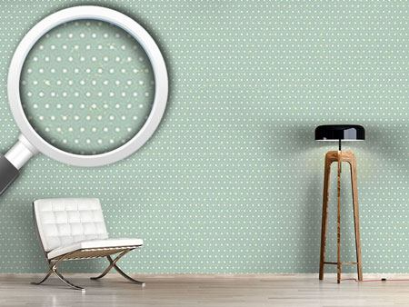 Pattern Wallpaper Polkadots Mint