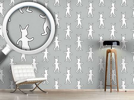 Papier peint design Rabbit Dance Softrock