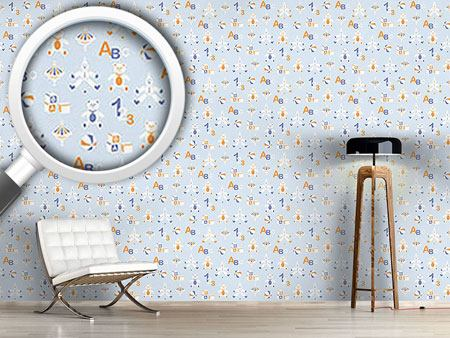 Pattern Wallpaper Toys