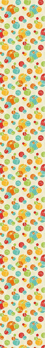 Pattern Wallpaper Colorful Circles