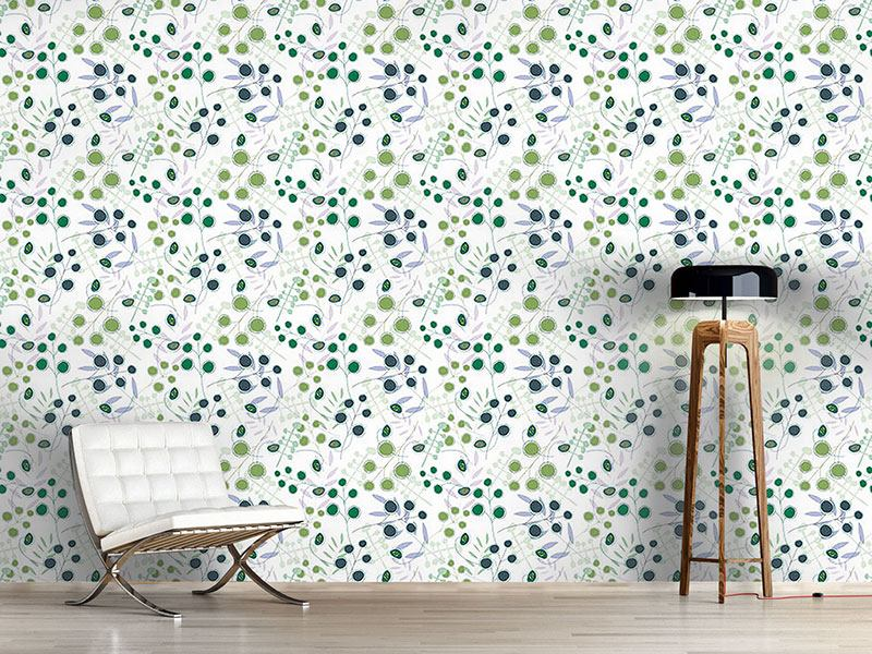 Pattern Wallpaper Spring Party