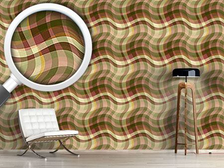 Pattern Wallpaper Tartana Toscana