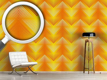 Pattern Wallpaper Philharmonic Zig Zag