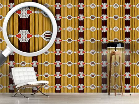 Papier peint design Curtains Up For Baroque
