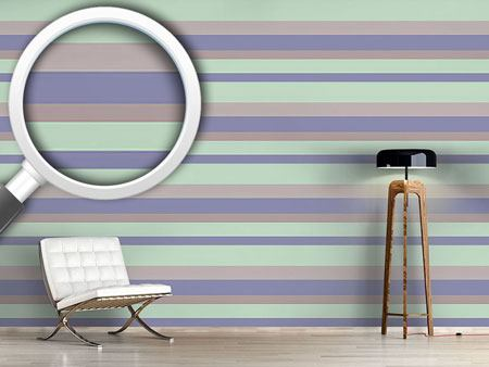 Pattern Wallpaper Beach Stripes