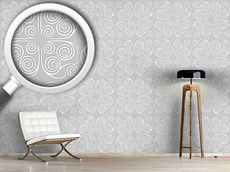 Pattern Wallpaper Jorinde Spirals