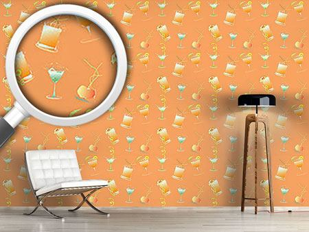 Papier peint design Happy Hour