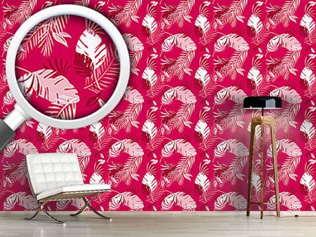 Papier peint design Honolulu Pink