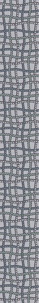 Carta da parati Snake Web At Dawn