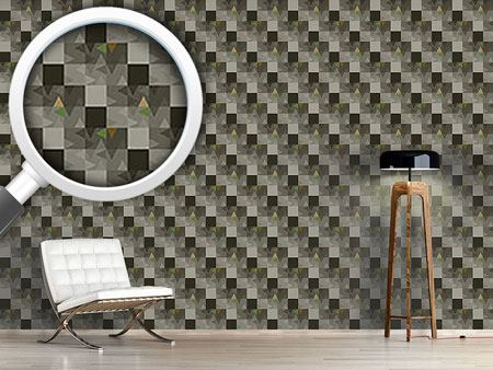 Pattern Wallpaper Geometric Echo