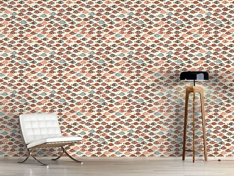 Pattern Wallpaper Swarms Of Fish