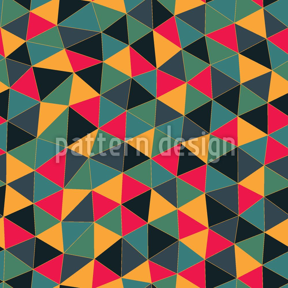 Pattern Wallpaper Geometric Dragon Dress