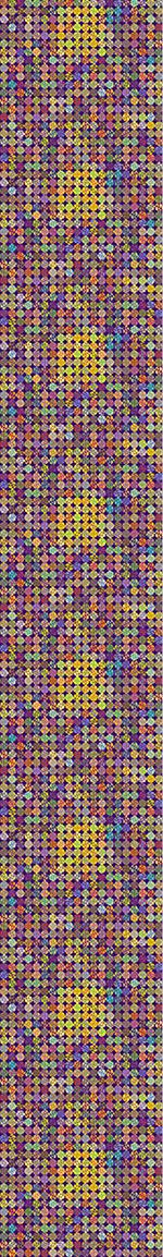 Carta da parati Pixeled Dots