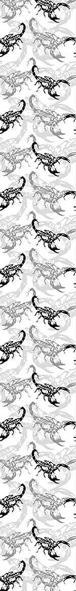 Pattern Wallpaper Scorpion Attack