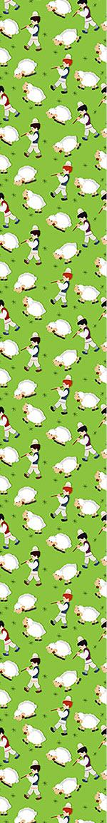 Pattern Wallpaper The Little Shepherds