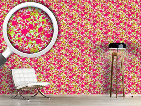 Papier peint design Cut Out Flora