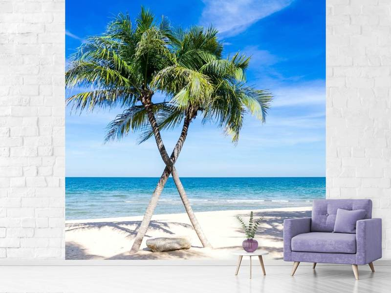 Papier peint photo Dream Beach Caribbean