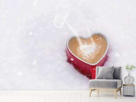 Photo Wallpaper Coffee and love