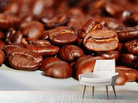 Photo Wallpaper Giant coffee beans
