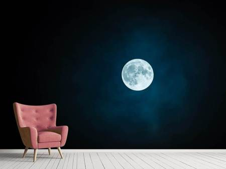 Photo Wallpaper Imposing full moon