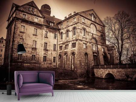 Photo Wallpaper Mysterious house