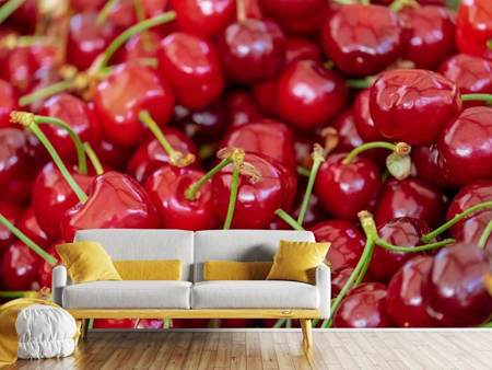 Photo Wallpaper Sweet cherries