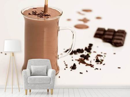 Photo Wallpaper Sweet chocolate smoothie