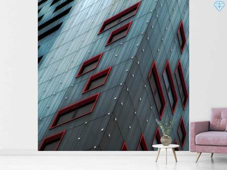 Photo Wallpaper Red Windows