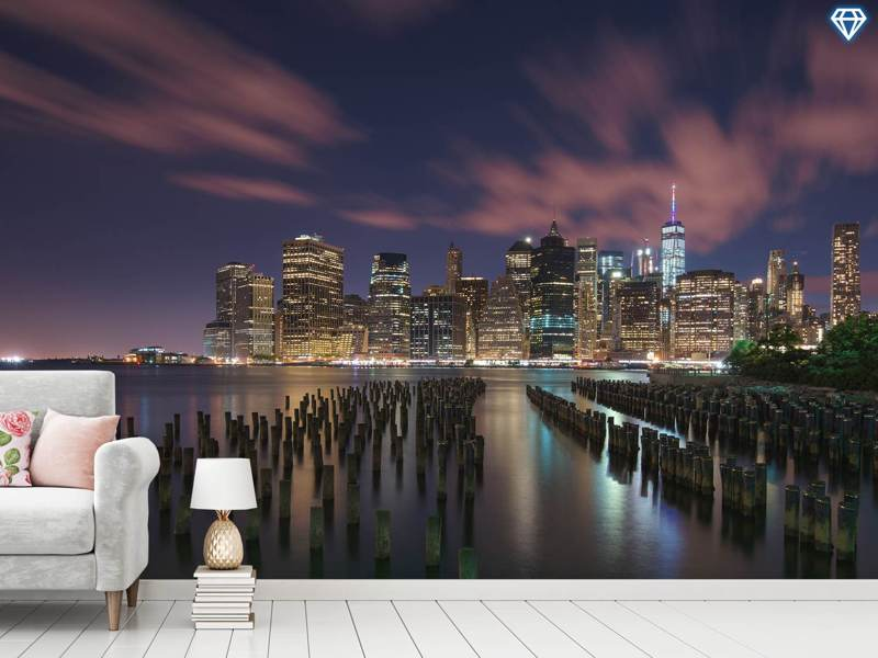 Photo Wallpaper New York City At Night