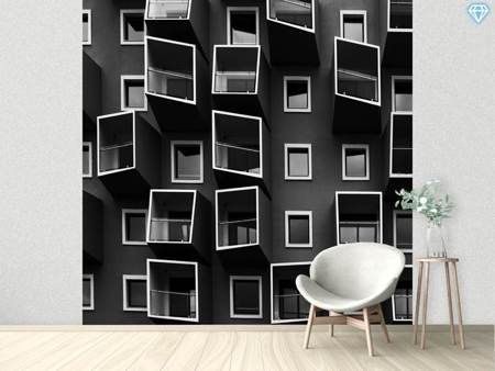 Photo Wallpaper Living In Boxes