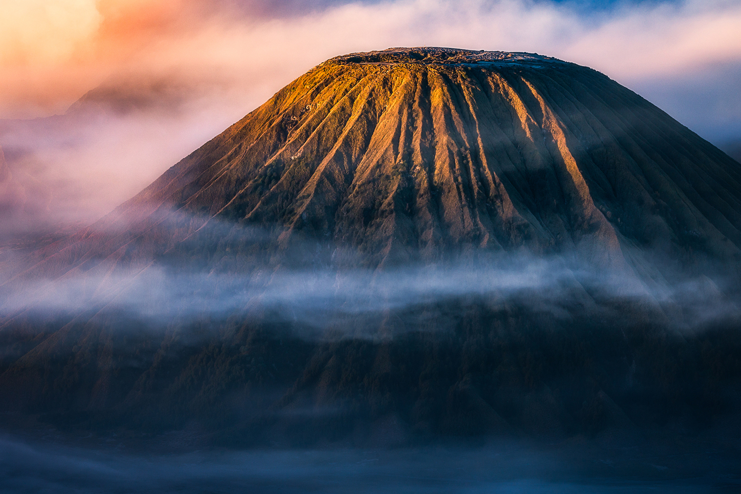 Photo Wallpaper Morning Mount Bromo