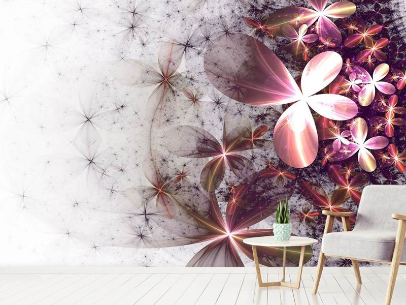 Photo Wallpaper Abstract Floral