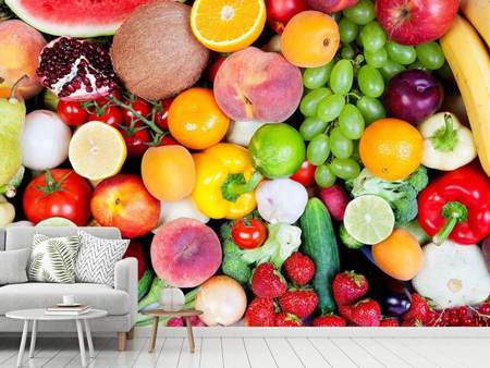 Photo Wallpaper Fresh Fruit