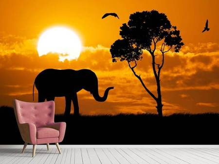 Photo Wallpaper Dreamy Africa