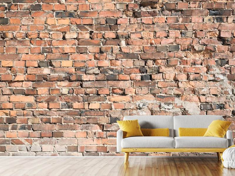 Photo Wallpaper Old Brick Wall