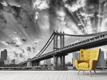 Photo Wallpaper Manhattan Bridge