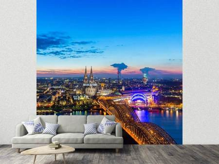 Photo Wallpaper Skyline A Penthouse In Cologne