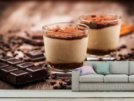 Photo Wallpaper Tiramisu