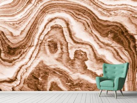 Photo Wallpaper Marble In Sepia