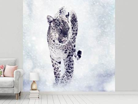 Photo Wallpaper Photo Wallaper The Leopard
