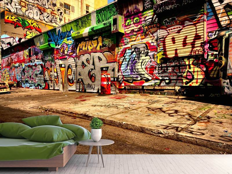 Photo Wallpaper Graffiti NY
