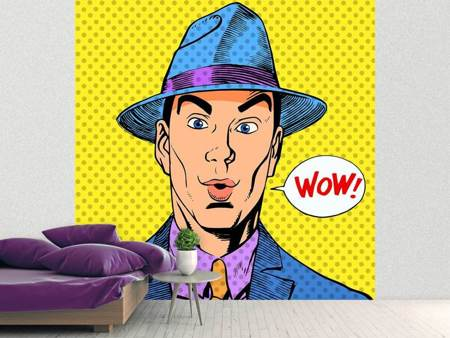 Papier peint photo Waouh Pop art