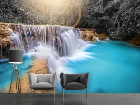 Photo Wallpaper Happy Waterfall