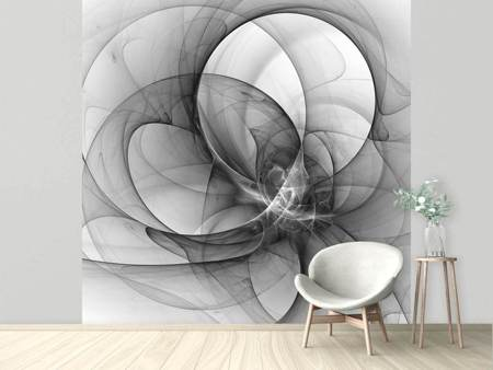 Photo Wallpaper Abstract Circle Circles