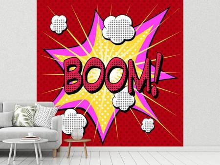 Photo Wallpaper Pop Art Boom